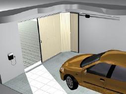 garážová vrata posuvá do boku
